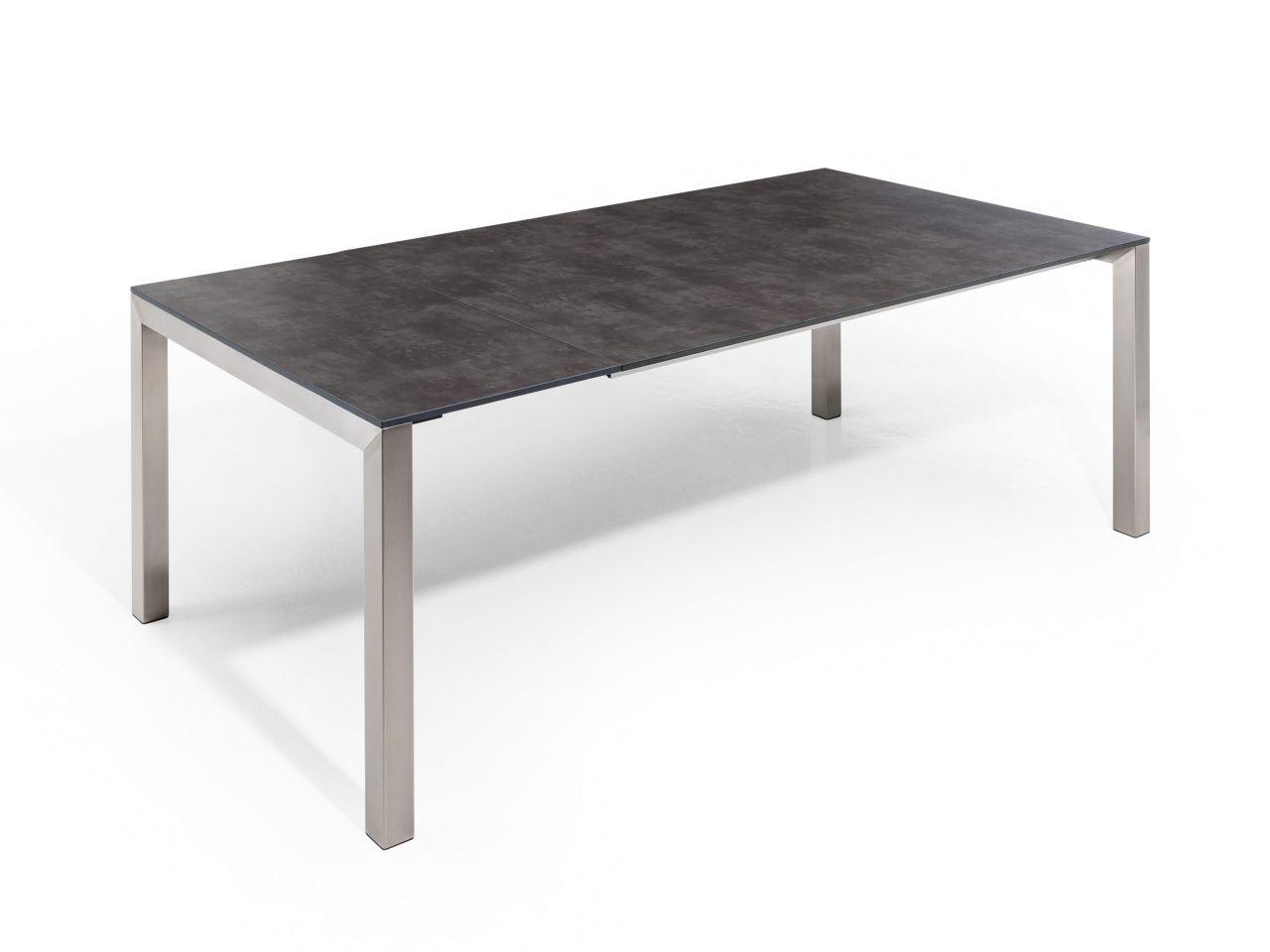 Tisch einmal ausgezogen 210x100cm