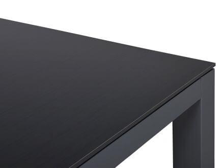 Vorschau: HPL Oberflächen-Dekor scandic black Seitenansicht