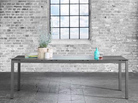Vorschau: solpuri Classic Alu Dining-Tisch HPL-3D