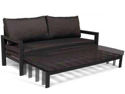 Tierra Outdoor Funktionale Aluminium Lounge Sofa-Liege Tika