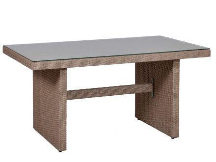 Vorschau: Dining-Tisch mit Glastischplatte