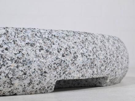 Vorschau: Granitsockel 90kg Detailbild Griffmulde