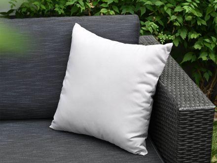 Vorschau: Lünse Dekokissen für Gartenmöbel 45x45cm grey