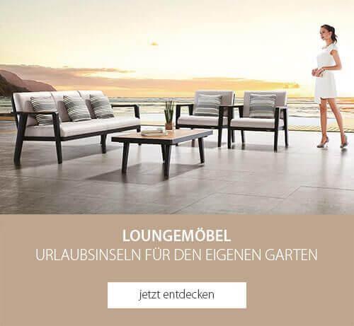 Loungemöbel - Urlaubsinseln für den eigenen Garten