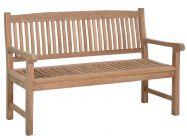 Teakholz Gartenbank Fiona 3-Sitzer